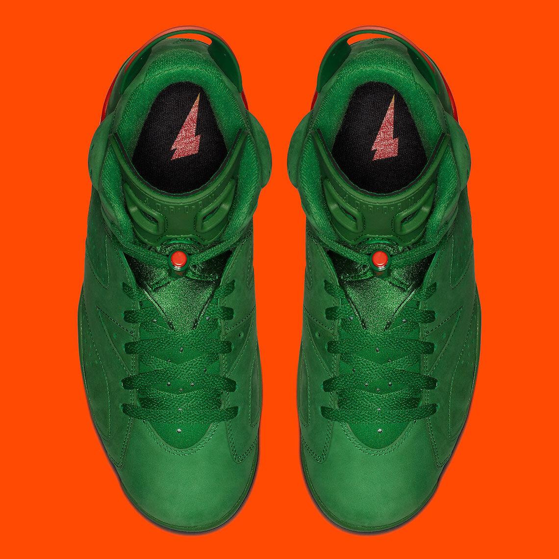 Nike Nike Nike AIR JORDAN 6 VI RETRO  AJ5986-335 Pine Green Gatorade x SZ  12 New W Rec. cd3eb6