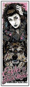 Eagles-of-Death-Metal-Melbourne-2016-Silkscreen-Poster-Variant-Art-Rhys-Cooper
