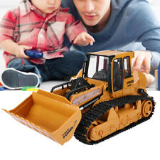 1:12 Remote Control Excavator RC Car Toy Construction Bulldozer W// Light Sound S