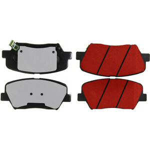 Disc Brake Pad Set-PQ PRO Brake Pads with Shims and Hardware Front Centric