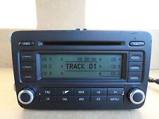 Volkswagen VW Passat Touran Golf RCD 500 Stereo CD Player 6 Disc Changer RCD500