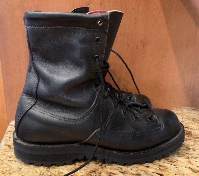 DANNER ACADIA 69410 Black Gore-tex Insulated Tactical Boots Mens 8.5D Vibram