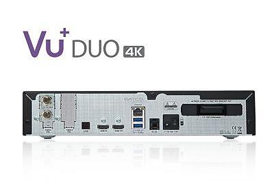 Vu + Duo 4k 1x Dvb-c Fbc Tuner Pvr Ready Linux Ricevitore Uhd 2160p-