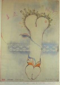 Maria-Lahr-1954-Wien-I-Love-New-York-Man-hatt-n-Phallus-Grossformat