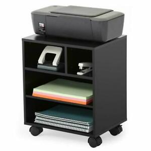 Fitueyes-Mobile-Printer-Stand-With-Organizing-Storage-Adjustable-Work-Cart-With