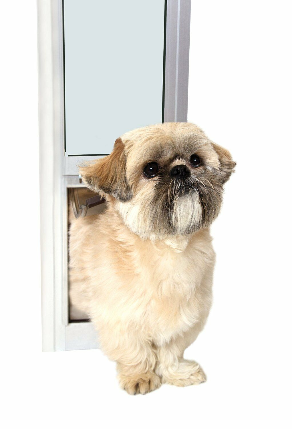 PetSafe Freedom Patio Panel, 76 34 to 81  Small White Dog Cat Sliding Door