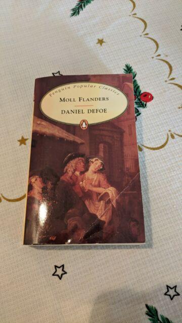Moll Flanders By Daniel Defoe - Penguin Popular Classics Paperback Book 1994