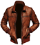 Biker Leather Bomber Jacket Vintage Mens Motorcycle Winter Distressed Brown Fqw06C