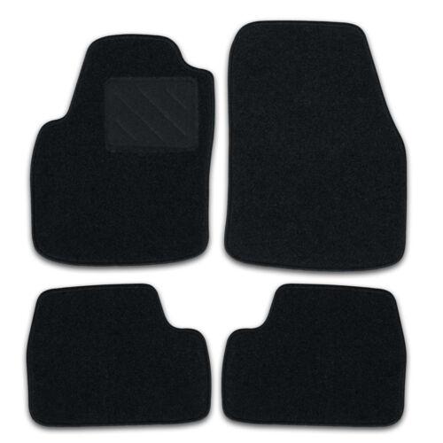 Bj 05//13-12//19 RAU Fußmatten Zero schwarz passend für Renault Captur 5trg