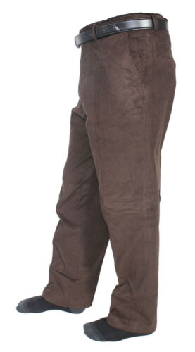 Da Uomo in Velluto a Coste Cavo Straight pantaloni pantaloni Adulto Ufficio Lavoro Formale Smart Pantaloni