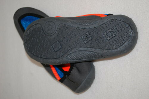 BLUE Details about  /Boys Water Shoes DARK GRAY NEON ORANGE Beach Swim SIZE 2-3 or 4-5