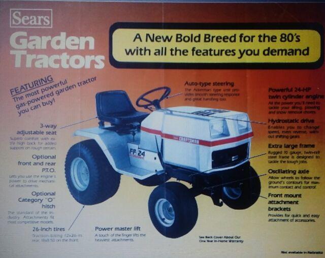 Sears Craftsman Garden Tractor | Tyres2c