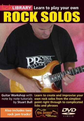 Learn to Play Your Own Rock Solos Guitar Workshop with Note-for-Note T 000393000