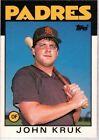 1986 Topps John Kruk #56T Baseball Card