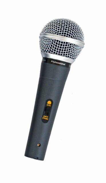 MIKROFON  PROFI QUALITÄT MUSIKER GESANG SPRACHE  FM 580 MK II  b-ware