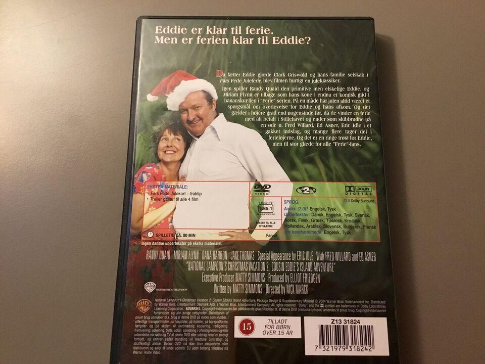 Fars fede juleferie 2, DVD, familiefilm