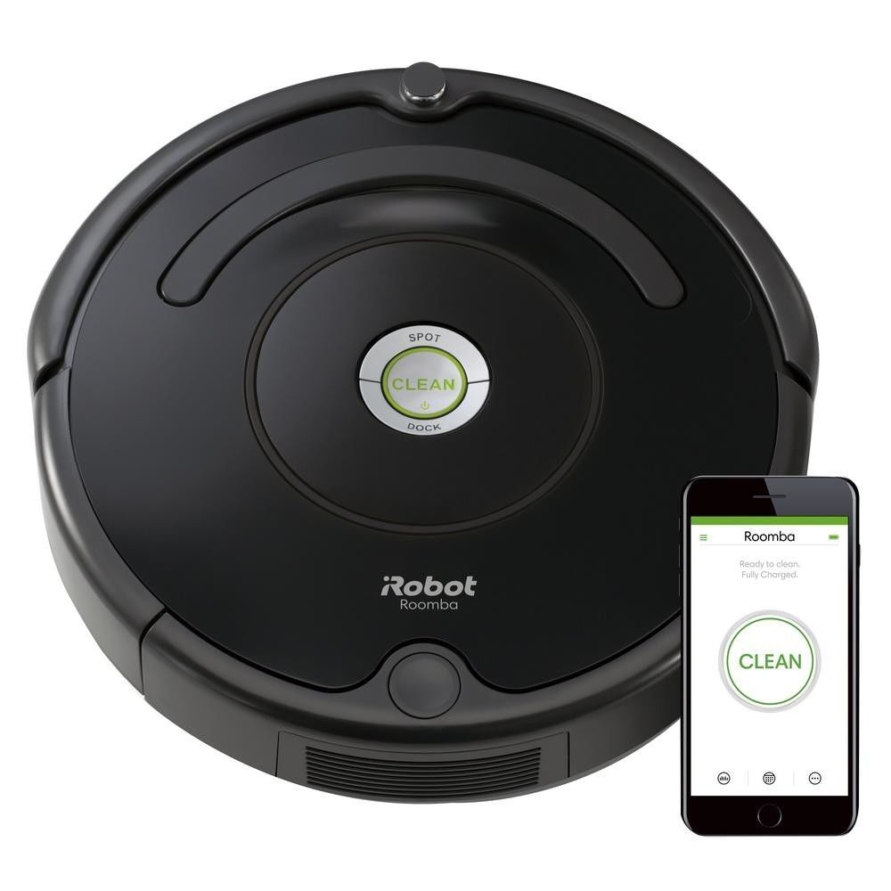 IRobot Roomba R675 Wi-Fi Connected Robotic Vacuum Cleaner (XA1)