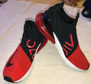 MENS NIKE AIR MAX 27C Size 10 RED BLACK