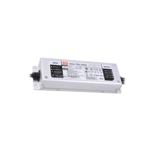 DALI LED 96W 24VDC 4A IP67 MEAN WEL Impuls Kommunikation ELG-100-24DA Netzteil