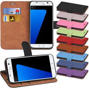 Book-Case-fuer-Samsung-Galaxy-Schutz-Huelle-Handy-Tasche-Klapphuelle-Flip-Cover