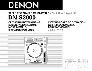 Denon dn-c615 manual
