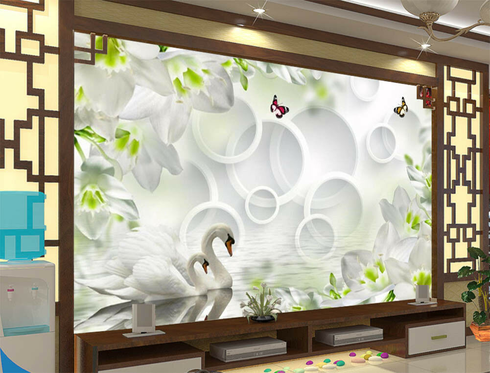The Scene Of Spring 3D Full Wall Mural Photo Wallpaper Printing Home Kids Decor