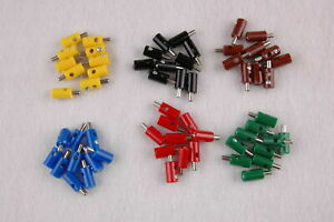 Piece-23-25-CT-Connecteur-Bouchon-de-Trou-Croix-2-6mm-60-Piece-Trie-Neuve