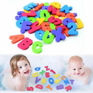 Munchkin 36 Bath Letters and Numbers Children Developmental Baby Bath Fun Toys