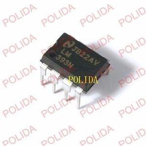 10PCS Comparator IC NSC DIP-8 LM393N LM393N/NOPB