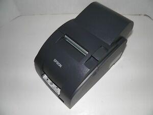 NEW-EPSON-TM-U220A-M188A-Dot-Matrix-POS-Receipt-Printer-SERIAL-w-power-supply