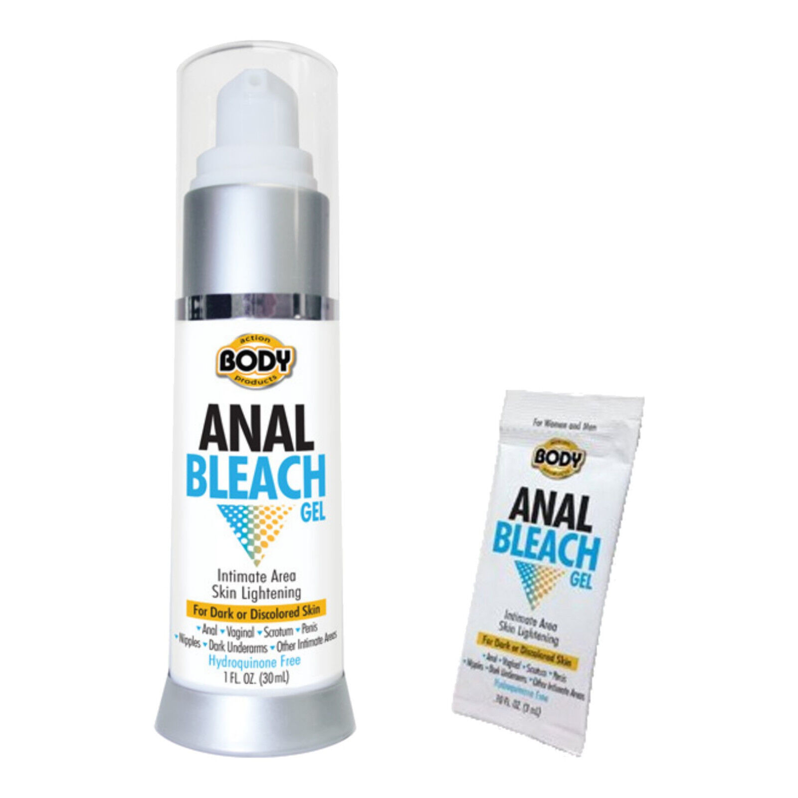 Hydroquinone for anal bleaching