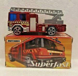 MATCHBOX-CARS-SUPERFAST-DENNIS-SABRE-FIRE-ENGINE