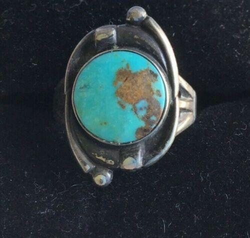 Sterling Silver Navajo Pawn Ring