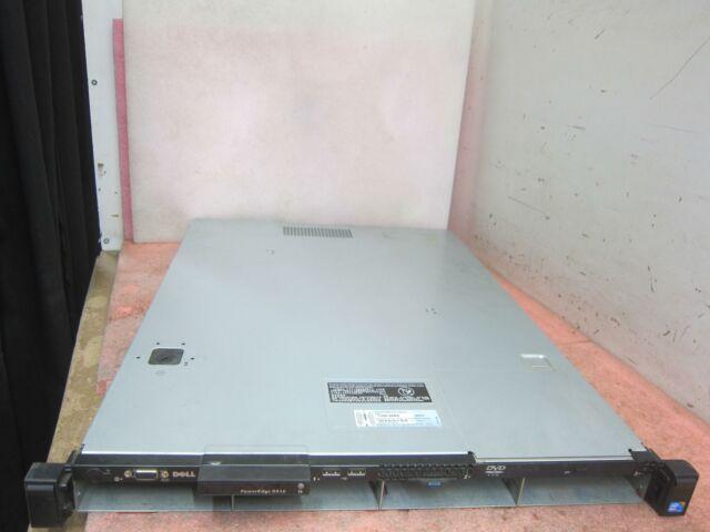 Dell PowerEdge R410 1U - 1x Xeon L5520 QC @ 2.27Hz 8GB DDR3 PERC S100 3.5