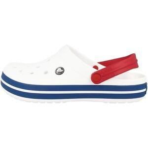 Das Bild wird geladen Crocs-Crocband-Clog-Sandale-Clogs-Schuhe-Badeschuhe- white- e778179842e