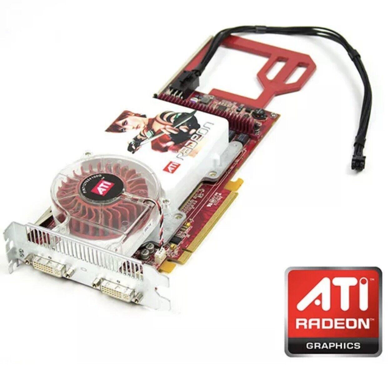 Genuine ATI radeon x1900xt 512mb apple mac pro graphics card dual dvi