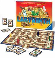 Labyrinth - A Race For Treasures In A Moving Maze - Maze Game - Family Game Toys