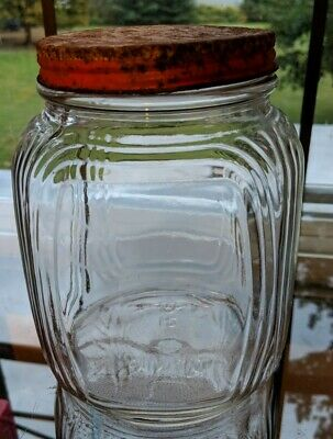 Vintage Morrell Pride Pickled Pigs Feet Jar Art Deco Vintage Storage Ebay