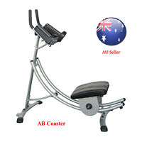 Ab Coaster Exercise Fitness Machine Bottom Up Movement Wave Rocket As Seen On Tv