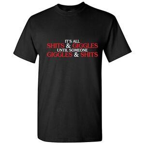 Giggle-Shts-sarcastico-humor-grosero-Adulto-Grafico-Idea-de-Regalo-Divertido-T-Shirt
