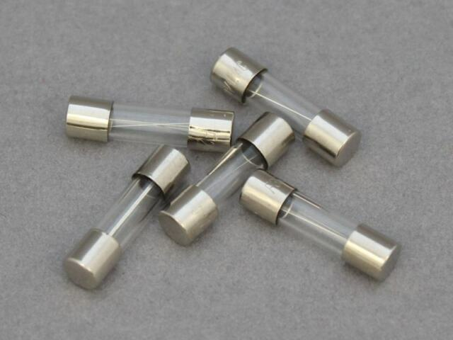 Quick Blow, Fast Acting 1.6 Amp GMA 1.6A 250V Fast Blow Pack of 5 Glass Fuses 5X20mm F1.6A