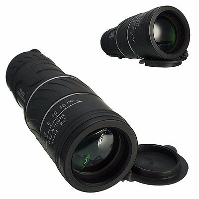 New Adjustable 30X52 Dual Focus Optic Lens Outdoor Travel Monocular Telescope