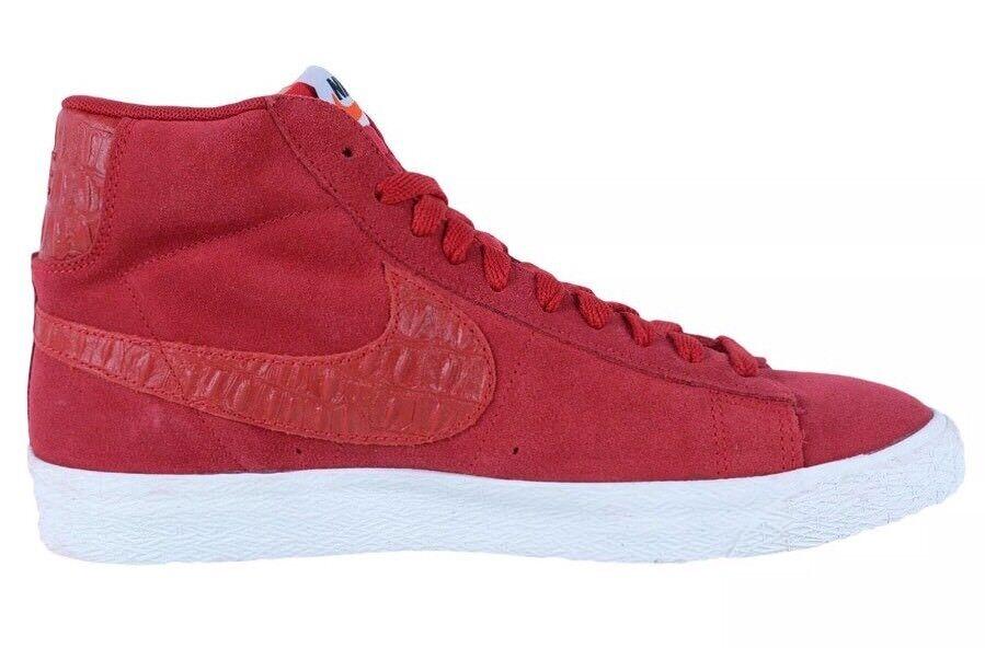 Nike Blazer Mid Prime VTG Vintage Size 10.5 Gym Sail Red Bred Toe 638261-601 NEW
