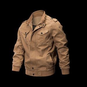 KF-Men-Military-Army-Pilot-Bomber-Jacket-Long-Sleeve-Tactical-Coat-Outwear