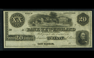 PMG-67-EPQ-East-Haddam-CT-Bank-of-New-England-Goodspeed-039-s-20-18-Remainder