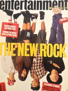 Entertainment Weekly Magazine Red Hot Chili Peppers August 21, 1992 081218nonrh