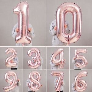 Rose-Gold-Giant-Foil-Number-Helium-Large-Baloon-Birthday-Party-Wedding-Decor
