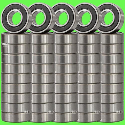 50 Stück ► 6204 2RS Kugellager 20 x 47 x 14 mm Rillenkugellager 20 mm Welle