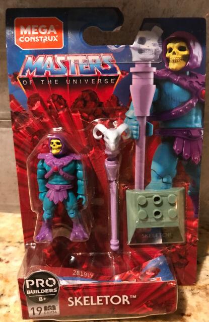 Mega Construx Masters Of The Universe *SKELETOR* MOTU Figure GNV34 Pro Builders