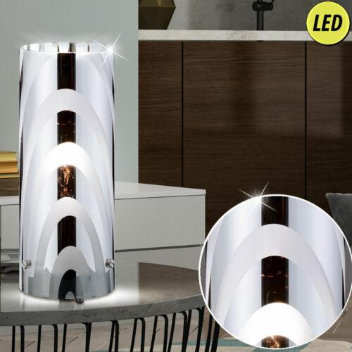 LED Design Tisch Leuchte Wohn Zimmer Lese Beleuchtung Glas